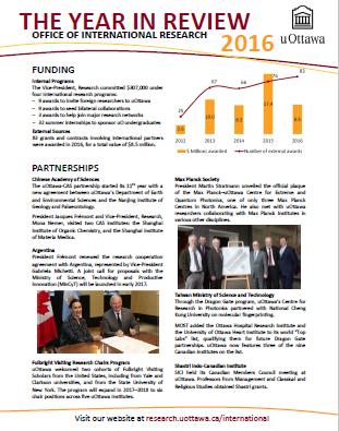 Un aperçu du rapport annuel