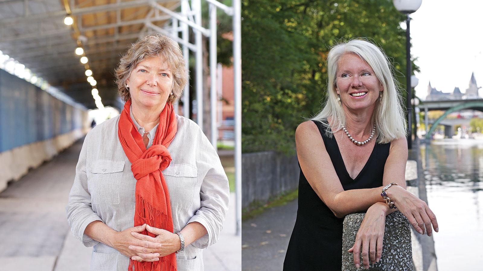 Katherine Lippel et Lori Beaman