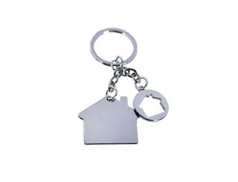 porte-clé en forme de maison