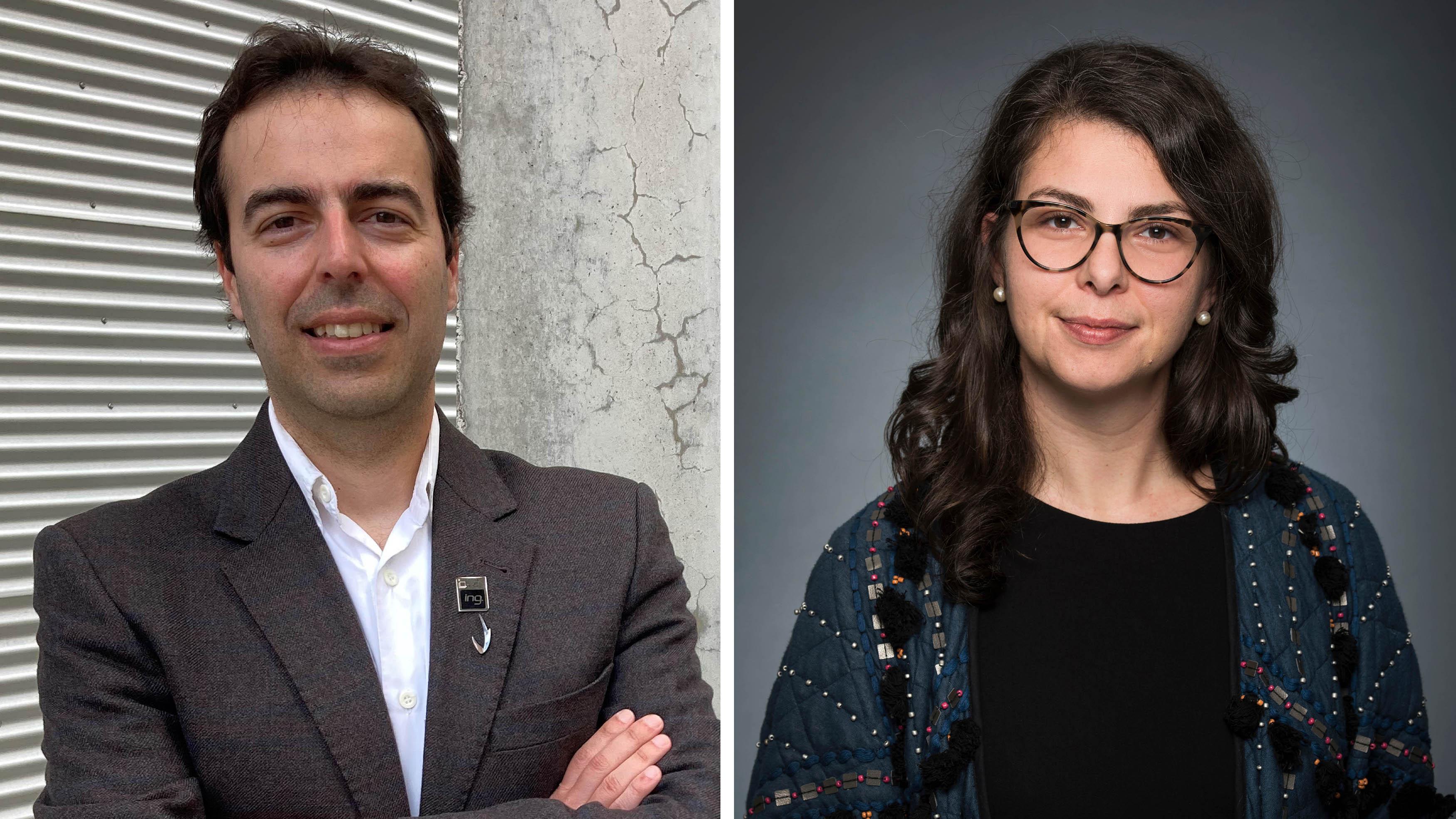 Leandro Sanchez et Alice Zwerling