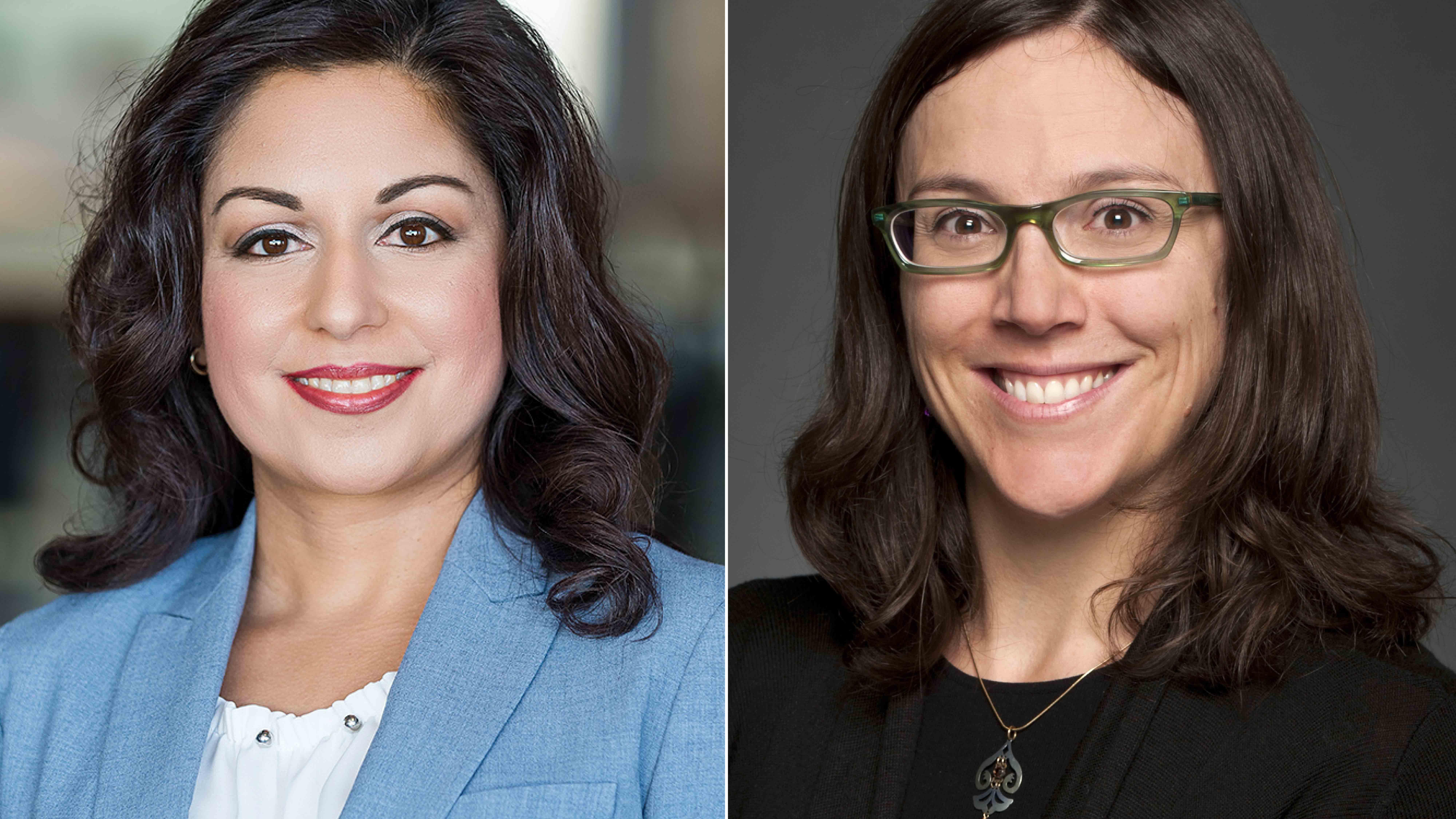 Nafissa Ismail et Sophie Thériault