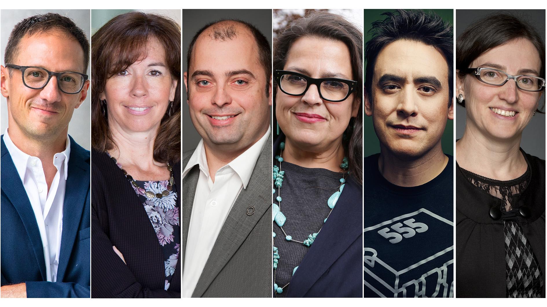 Pascal Audet, Nathalie Chalifour, Marc-André Langlois, Lindsey Lindberg, Andrew Pelling and Marie-Ève Sylvestre